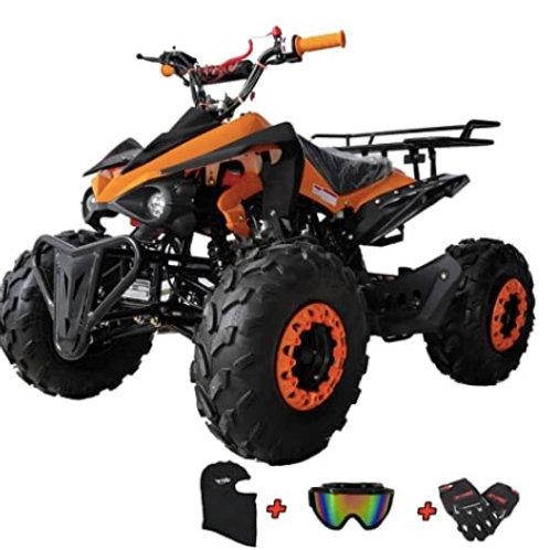 ATV + gear