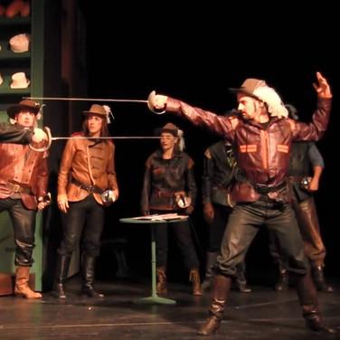"""""""Cyrano de Bergerac"""" © Theater Heilbronn Foto: Katja Zern"""