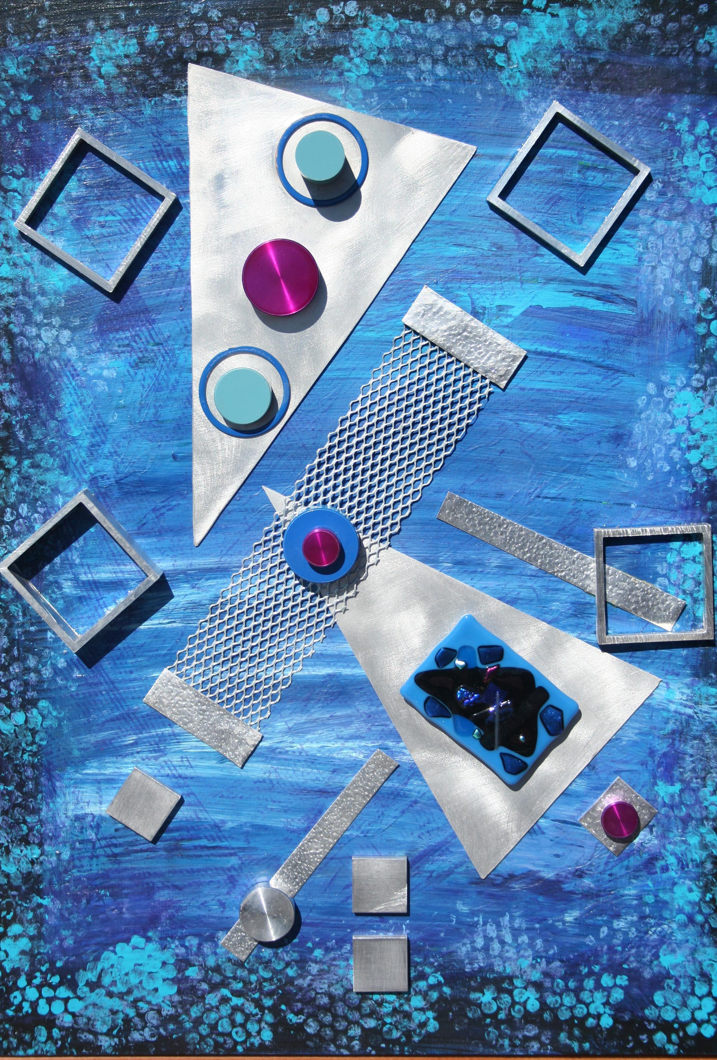 """Blue Geometric"""