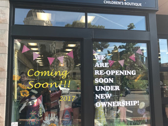 O'Child Children's Boutique will be Grand Re-opening on August!
