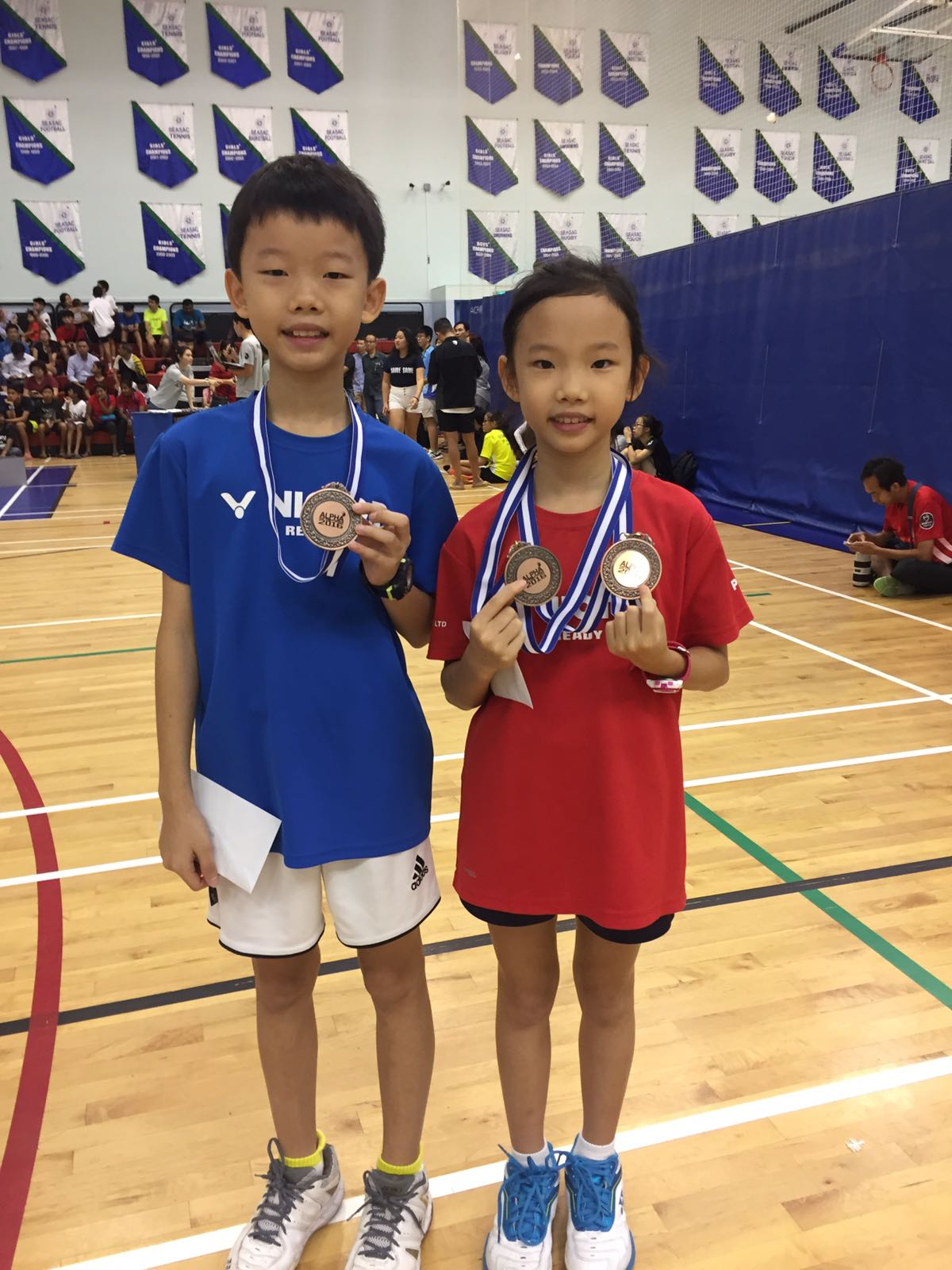 Alpha Academy Age Group Series 2016 (Dec) - Ian Ow & Faith Ow