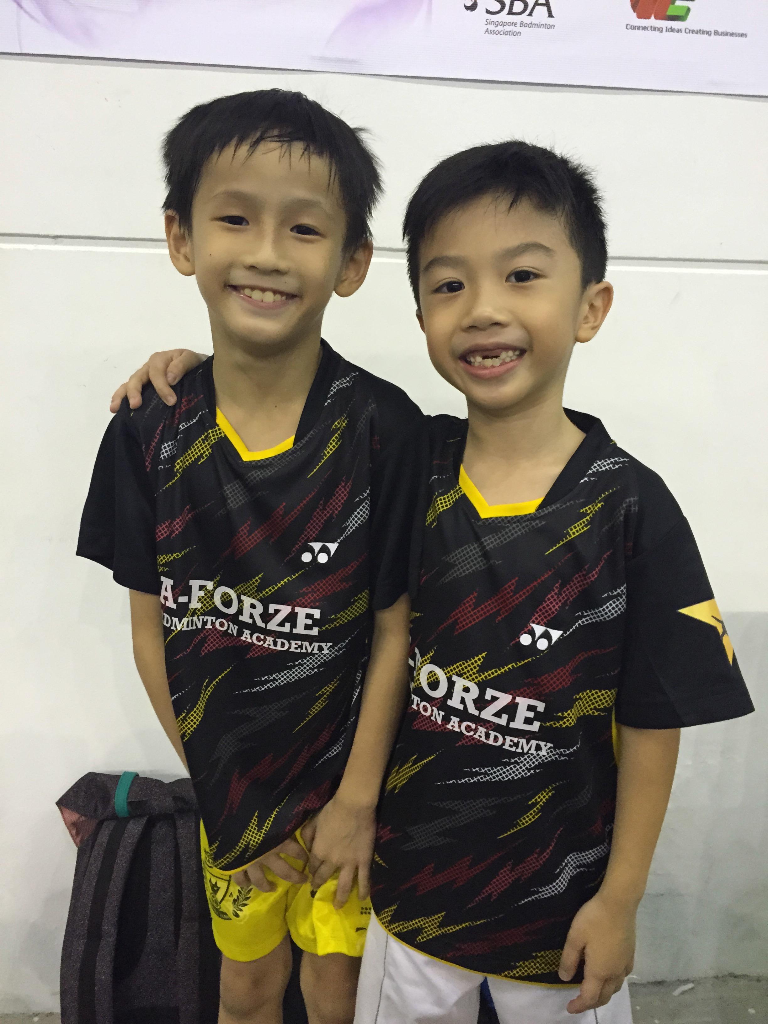 Yong Xin & Darrius