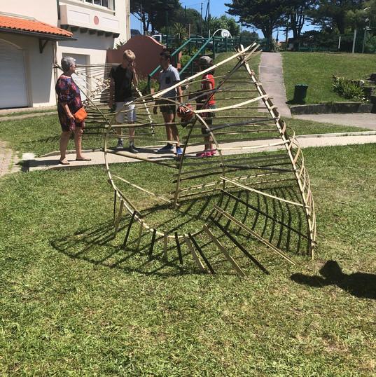 Gure etxea eraiki / Construire sa maison - Juillet 2019