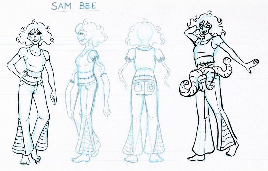 Sam Bee the Zombie Turnaround