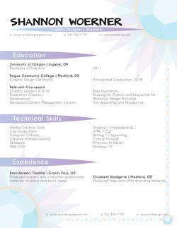 Decorative Resume