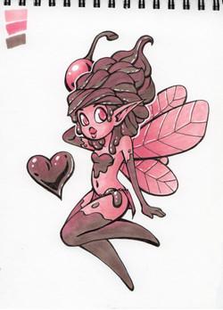 Chocolate Cherry Icecream Fairy