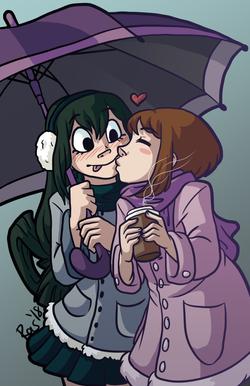 Rainy Day Smooch