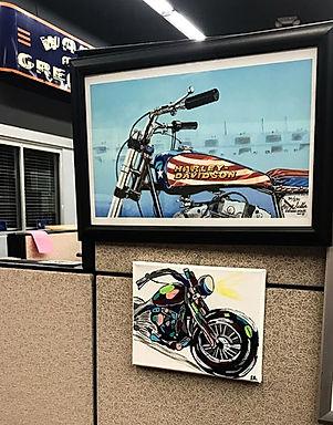 Mecum Headquarters Artwork | Ariel's Fine Arts