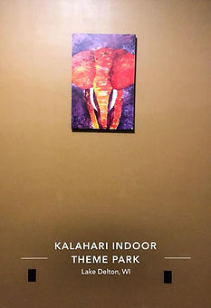 Kalahari Resort Artwork | Ariel's Fine Arts