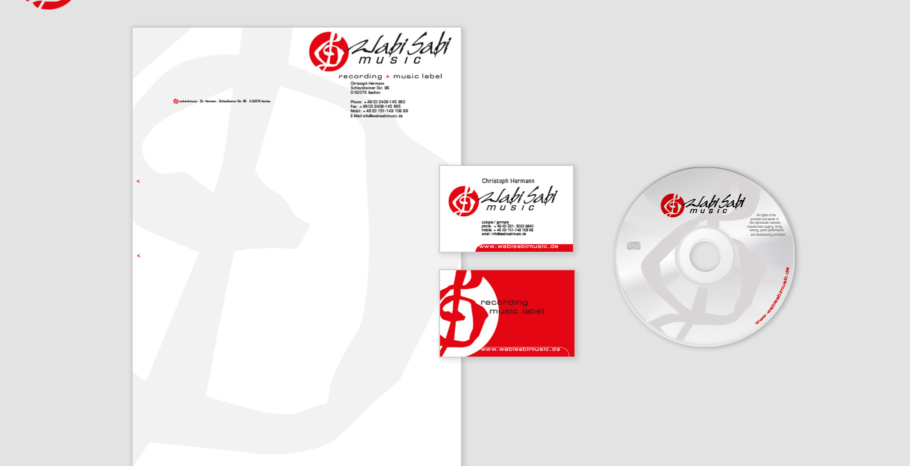 Corporate Identity - WabiSabi Music