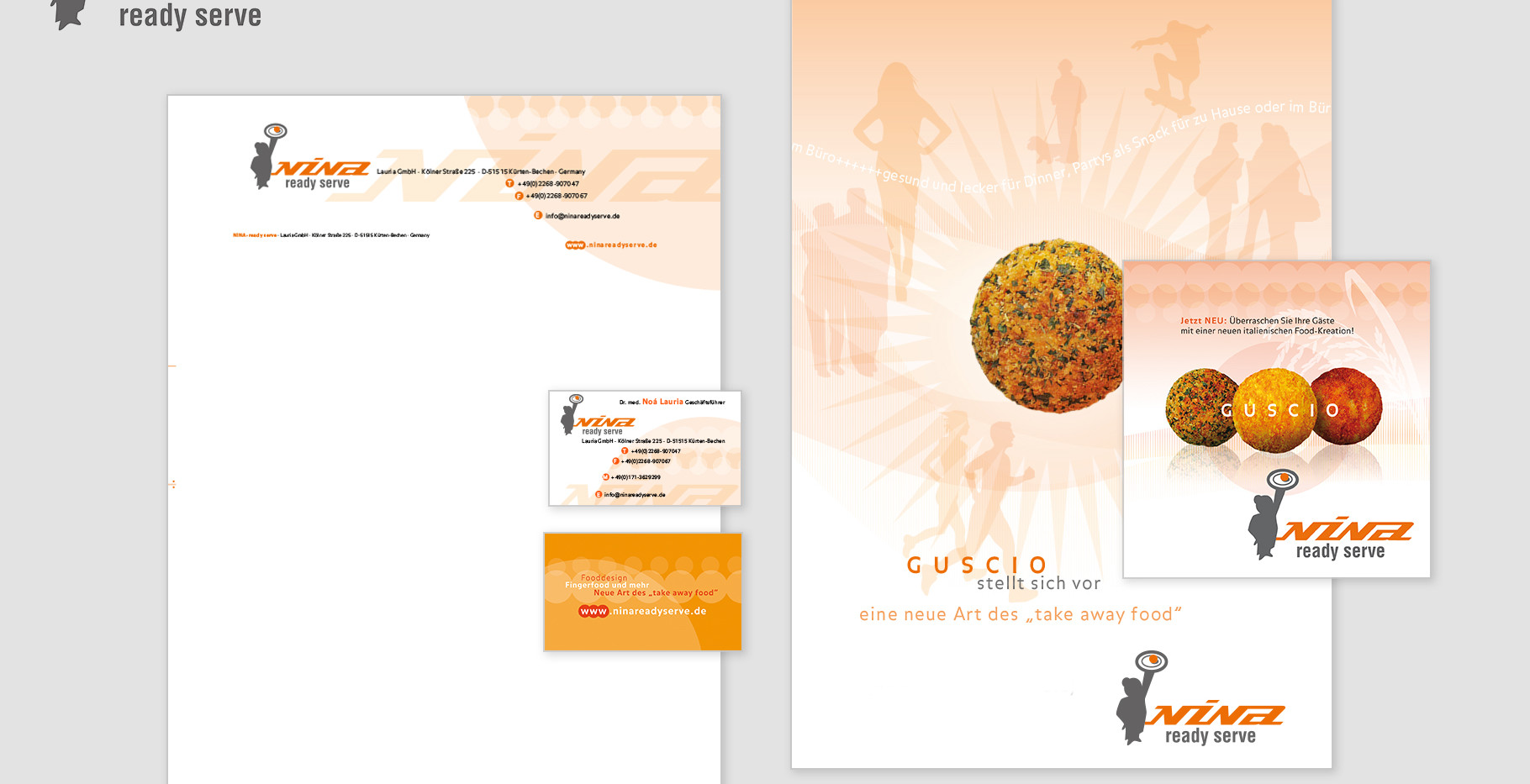 Corporate Identity - NINA ready serve