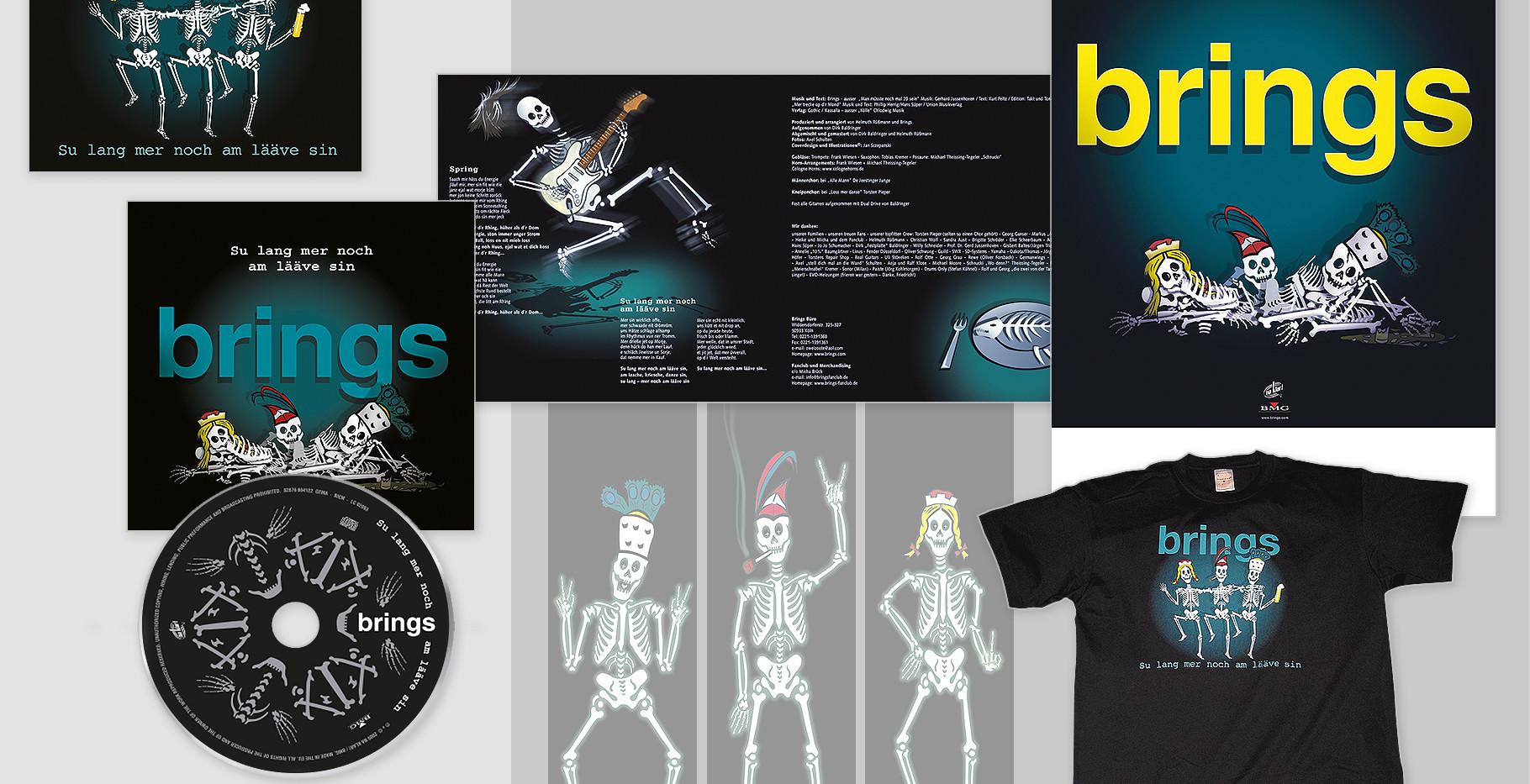 """Produkt-Design_rundum Brings-Album """"Su lang mer noch am lääve sin"""""""