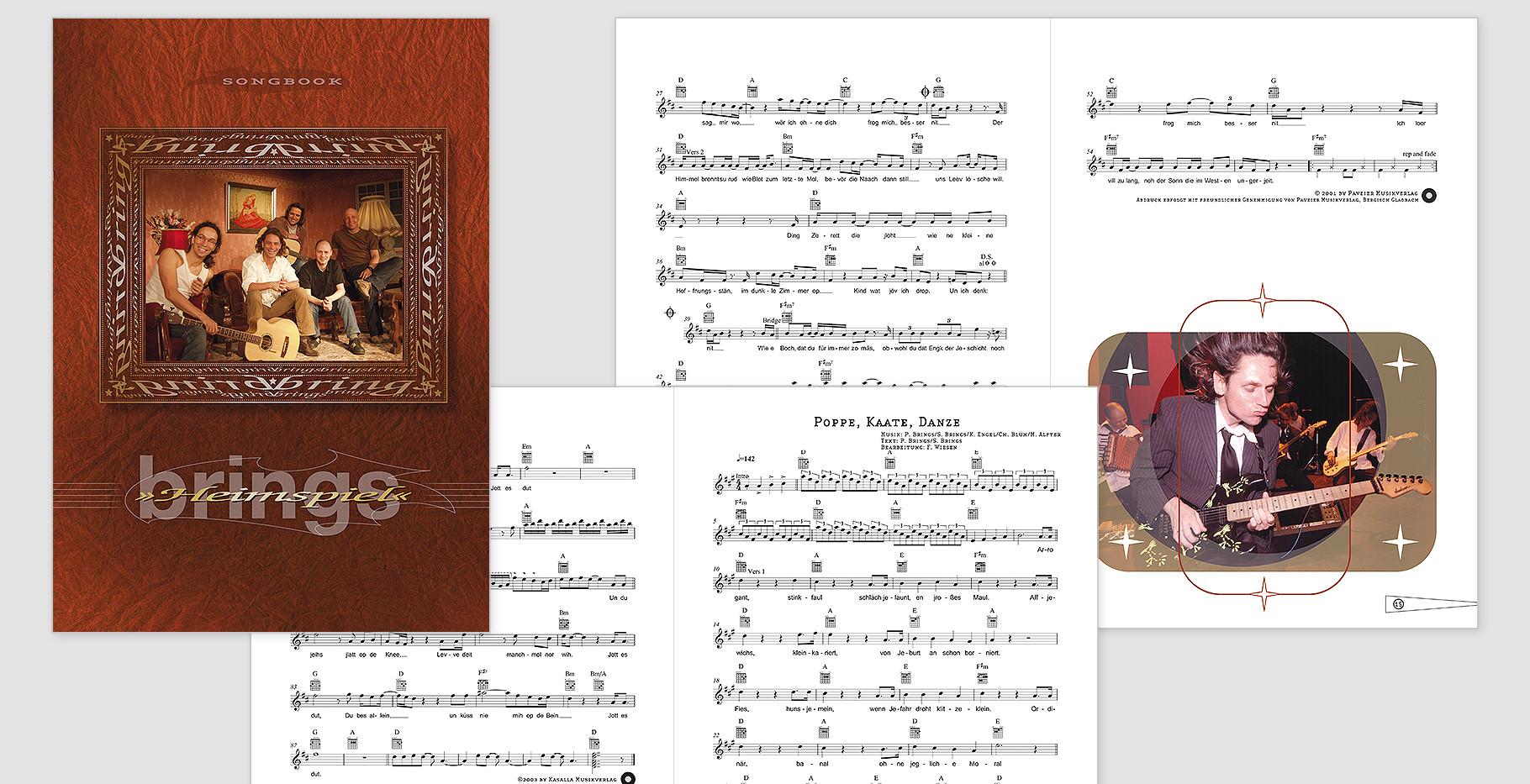"""""""Heimspiel"""" Songbook der Band Brings"""