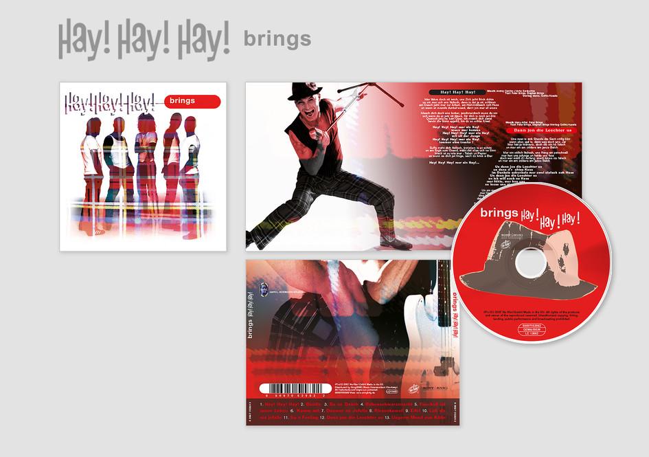 """Brings Album – """"Hay! Hay! Hay!"""" (Genre: Jecken-Rock)"""