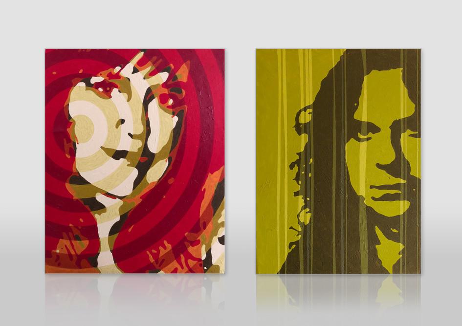 Plakative Portraits