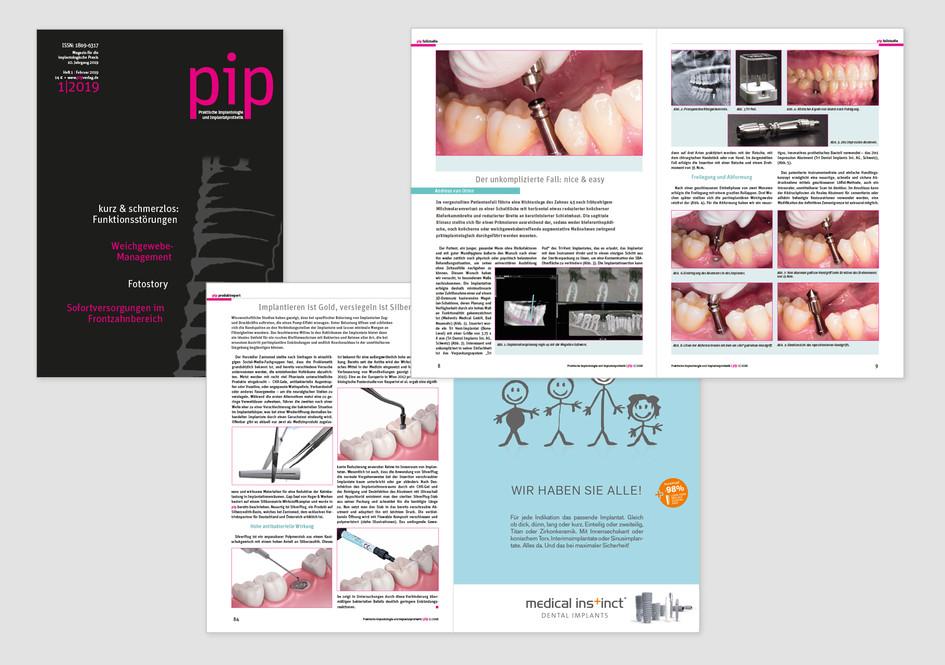 Fachmagazin für Praktische Implantologie und Implantatprothetik