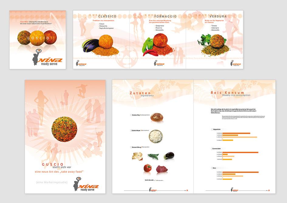 Produkt-Flyer - NINA ready serve