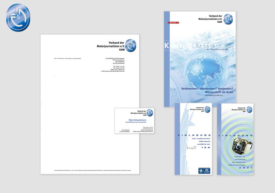 Corporate Identity - Verband der Motorjournalisten e.V.