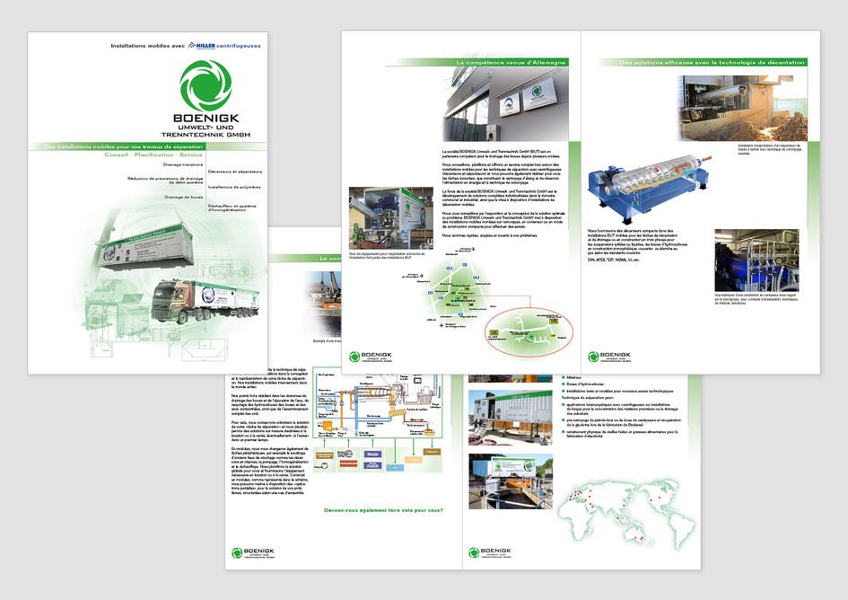 Unternehmensbroschüre – BOENIGK Umwelt- und Trenntechnik GmbH