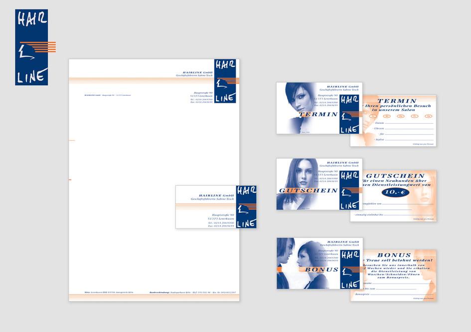 Corporate Identity - Hairline GmbH