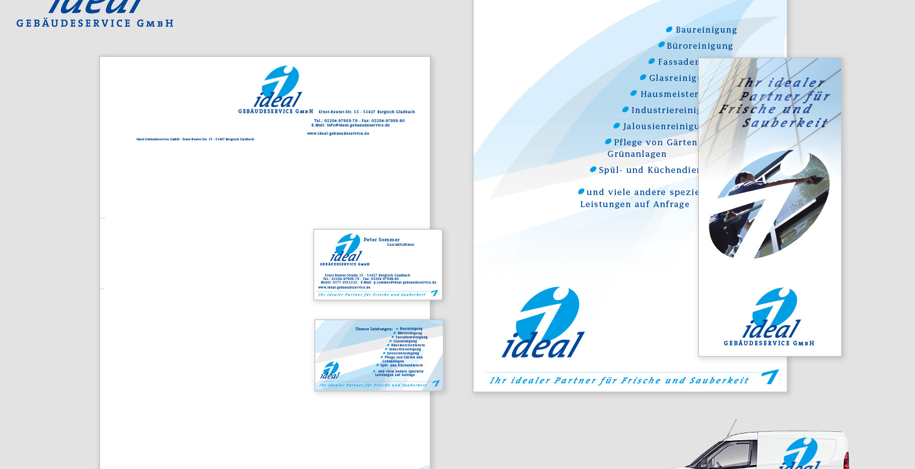 Corporate Identity - IDEAL Gebäudeservice GmbH