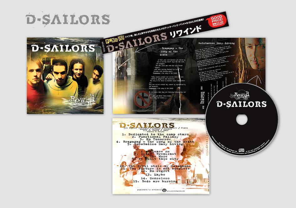 "D-Sailors Album – ""Rewind""  (Genre: Punk-Rock)"