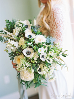 shindig chic, la wedding, los angeles wedding, los angeles florist, green wedding shoes, california