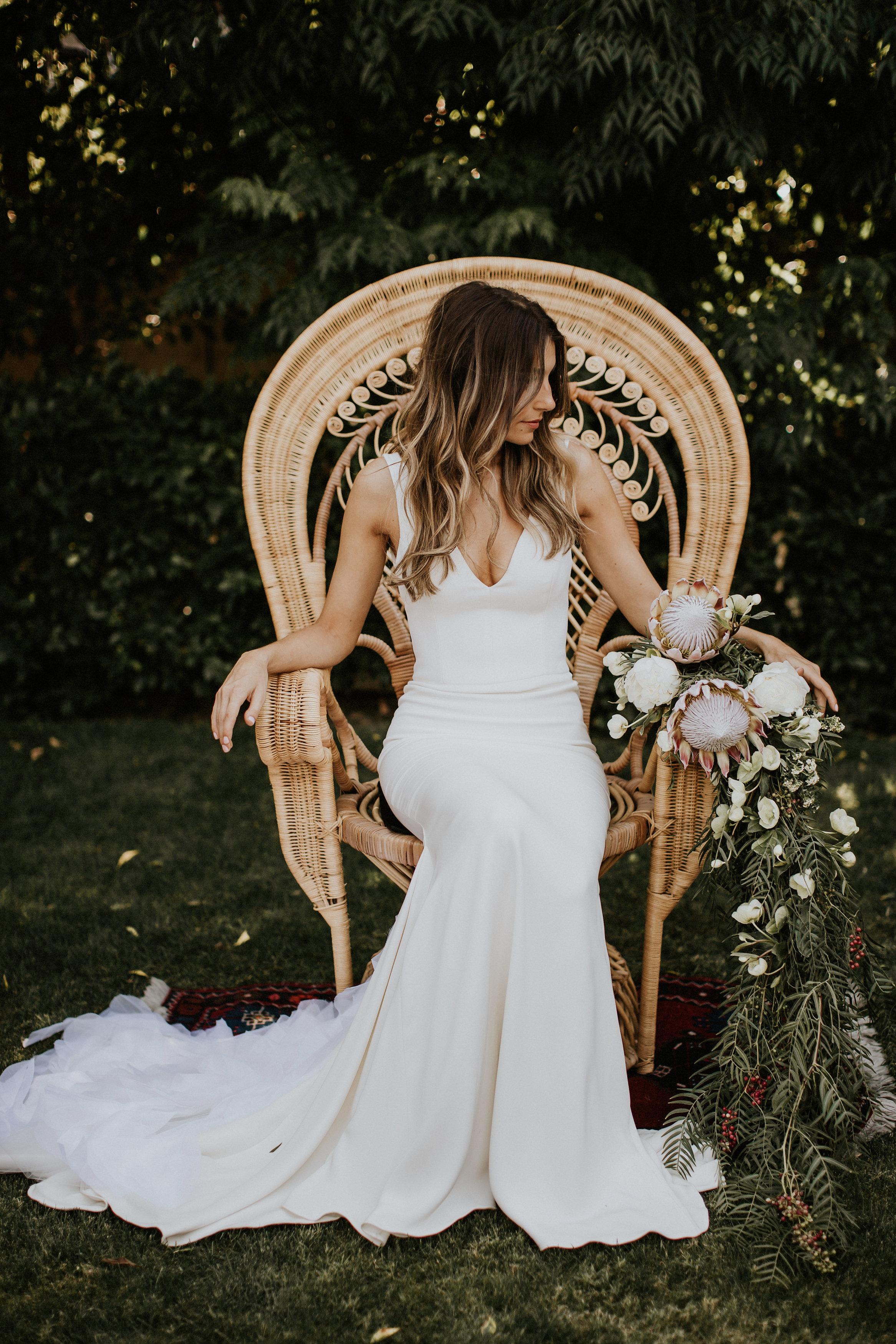 shindig chic, la wedding, los angeles wedding, los angeles florist, green wedding shoes, california