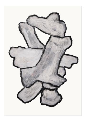 Gustavo Ferro Sem Título, 2021 Óleo sobre papel 428 × 594 mm
