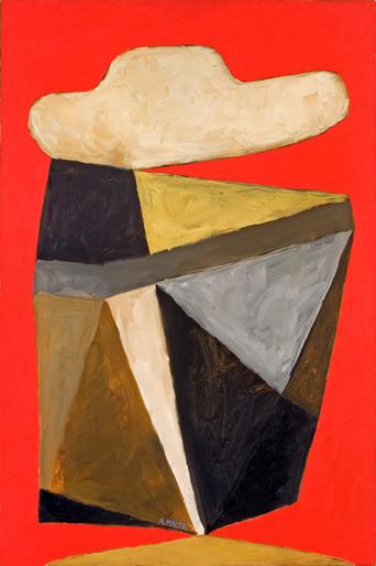 Antonio Malta  Sem Título, 1999  Óleo sobre tela  60 x 40 cm