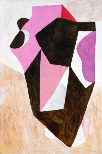 Antonio Malta  Sem Título, 2009  Óleo sobre tela  150 x 100 cm