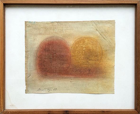 Montez Magno  Sem Titulo, 1962  Óleo sobre tela  29 x 36 cm