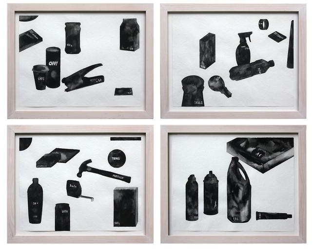 Pablo Accinelli References, 2012,  Aquarela sobre papel 30X40 cm