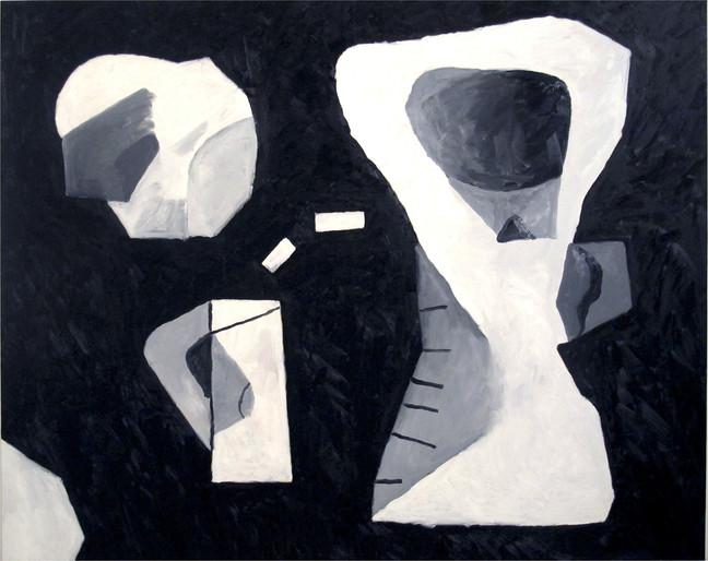 Antonio Malta  Sem Título, 2013  Óleo sobre tela  160 x 200 cm