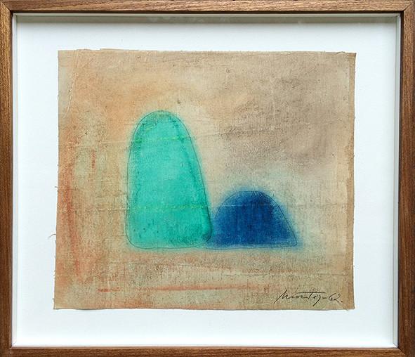 Montez Magno  Sem Titulo, 1962  Óleo sobre tela  35 x 40 cm