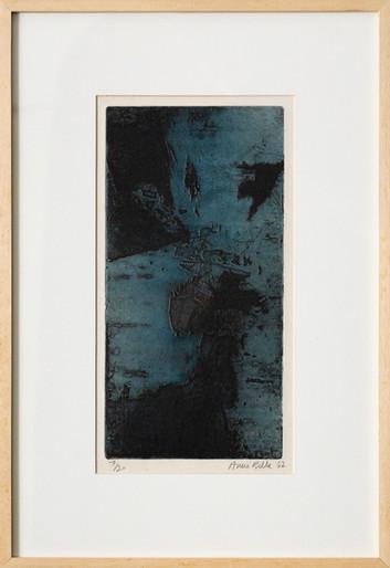 Ana Bella Geiger Sem Título, anos 1960 Gravura / ed. 7/20 48 X 33 cm