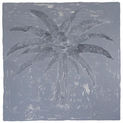 Adriana Moreno Palma, 2020 Monotipia sobre papel filtro neutro 250g 100x100cm