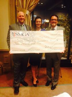 $5000 Donation to SMGA