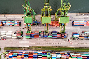 Container Ship Docking