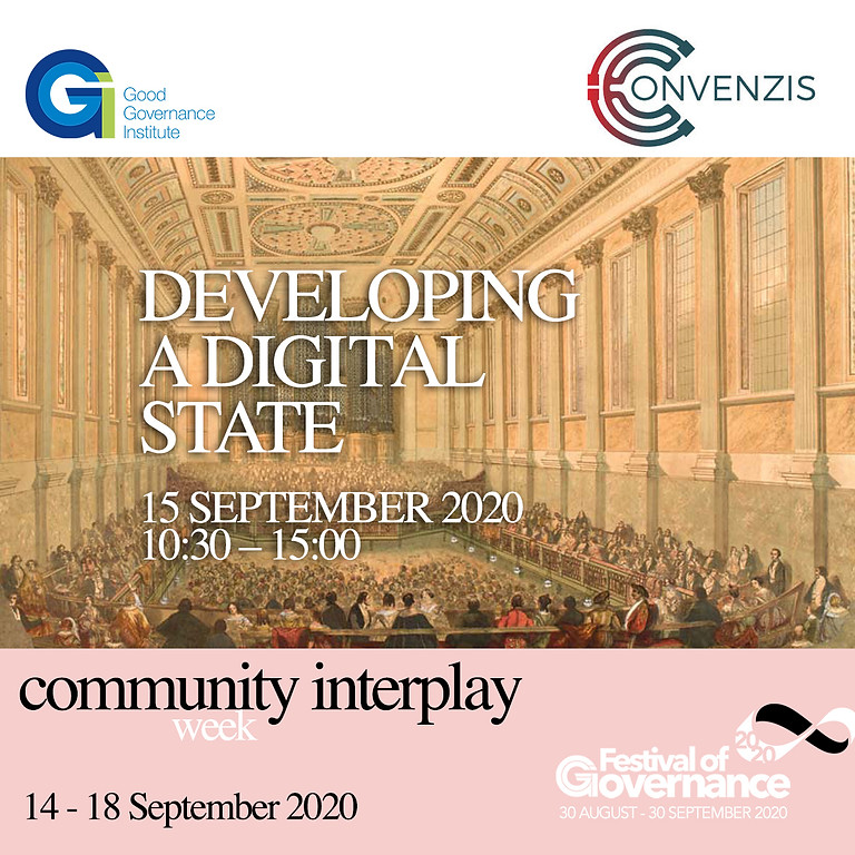 Convenzis - Developing a Digital State: Government IT Virtual Conference
