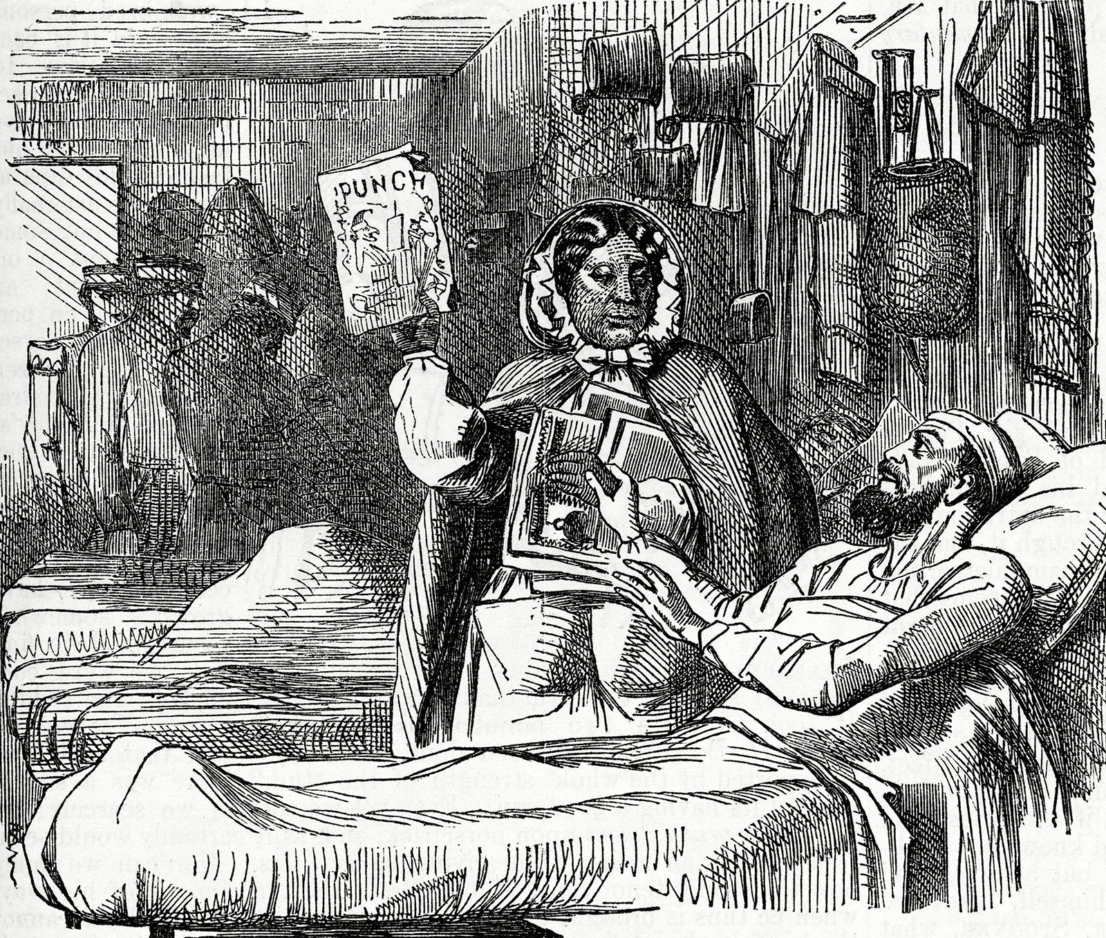Mary-Seacole-cartoon-magazine-Punch-May-