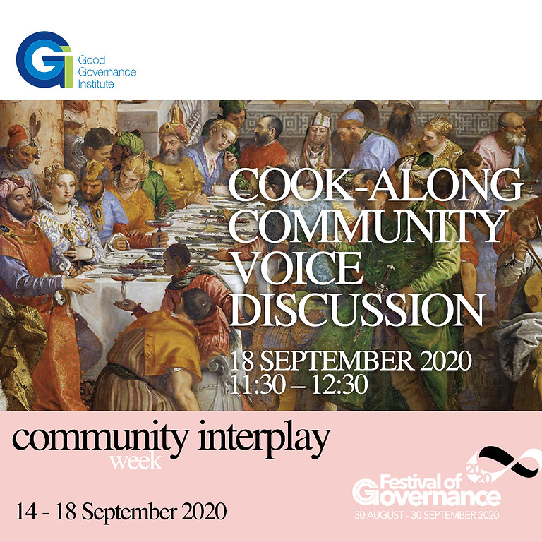 Cooking and the community voice