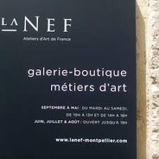 GALERIE-BOUTIQUE : LA NEF À MONTPELLIER