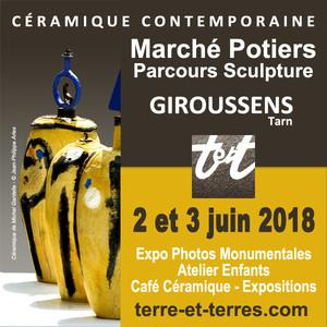 Marché de céramique contemporaine de Giroussens
