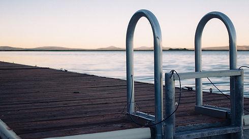 Dock su un lago