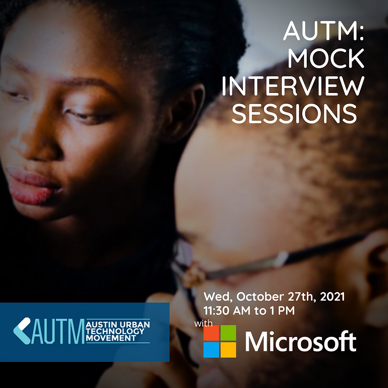 AUTM: Mock Interview Session with Microsoft