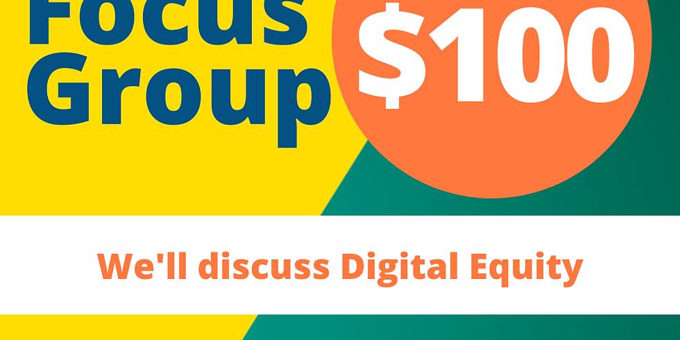 Digital Equity Focus Group