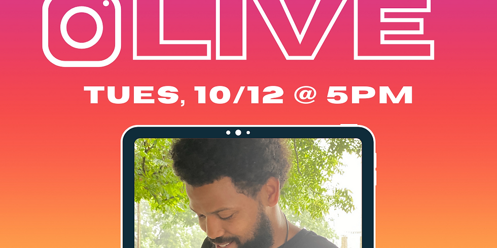 Instagram Live with Michael Ward Jr.
