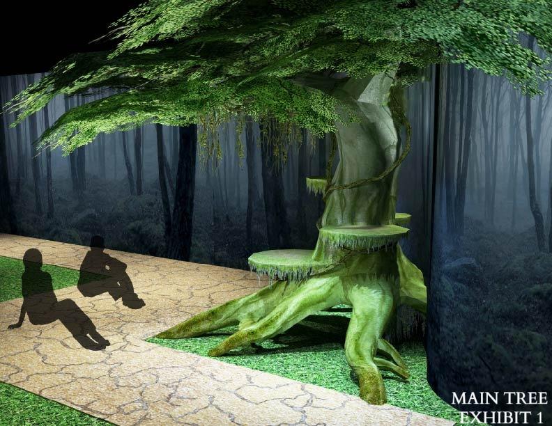 Main Tree Exhibit: Dead