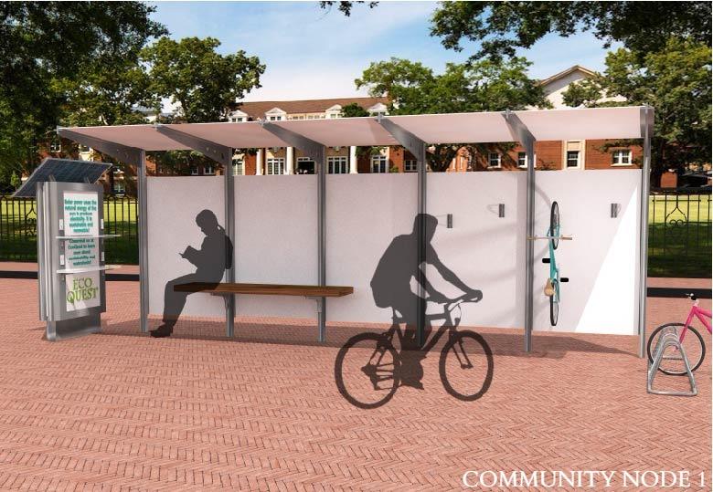 Community Node: Bike Stop